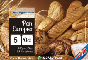"Curso Demostrativo ""Pan Europeo"""