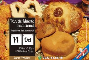 "Curso Práctico ""Elaboración pan tradicional día de muertos"""